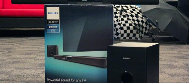 DAILY DRIVEN   Philips HTL3140B/F7 Soundbar Speaker