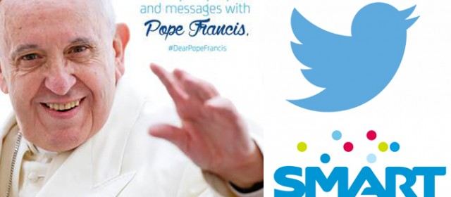 Smart partners with Twitter for free access during papal visit