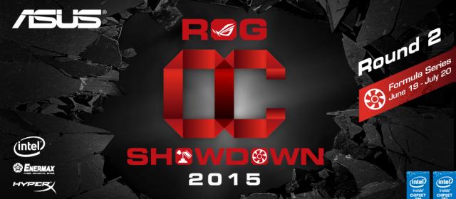 ASUS Republic of Gamers announces OC Showdown 2015 Formula Series R2