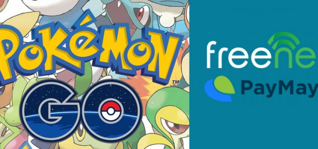 freenet and PayMaya Help You Cope With Pokemon GO