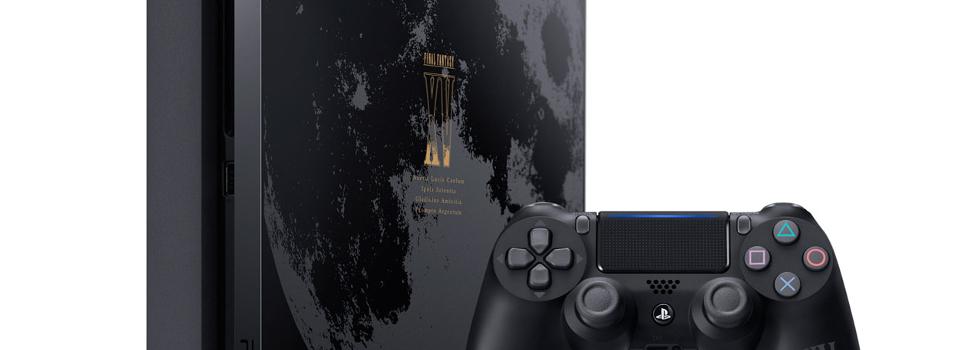 Sony Announces the new PlayStation 4 Final Fantasy XV Luna Edition