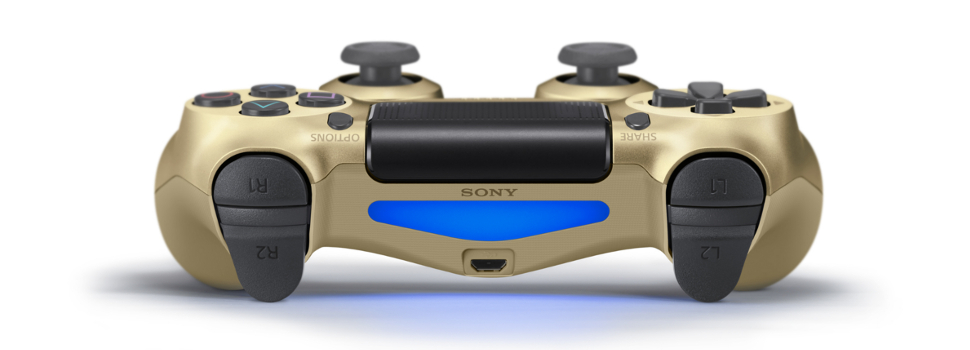 New Colors of the DUALSHOCK 4 to be released this December