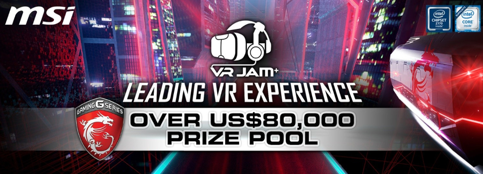 The short list of MSI VR JAM entrants is announced