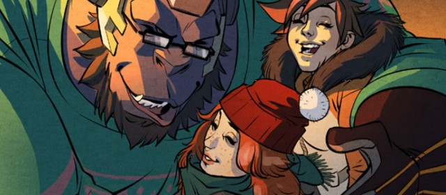 Overwatch's new holiday comic confirms LGBT character rumor