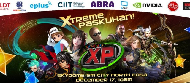 Playpark to hold Xtreme Paskuhan Christmas Event at the SM Skydome