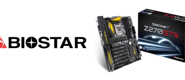 BIOSTAR launches the RACING Z270GT9 motherboard, bundled with an Intel 600p SSD