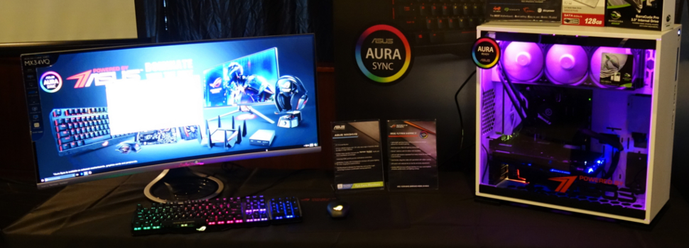 ASUS reveals new PC gaming Motherboards, Displays, and Peripherals for 2017