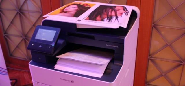 Fuji Xerox unveils the cloud-ready DocuPrint C315 series color printers; plus P365 d printer