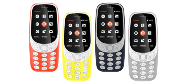 MWC 2017 | Nokia revives the legendary 3310; and announces three near-stock Android phones