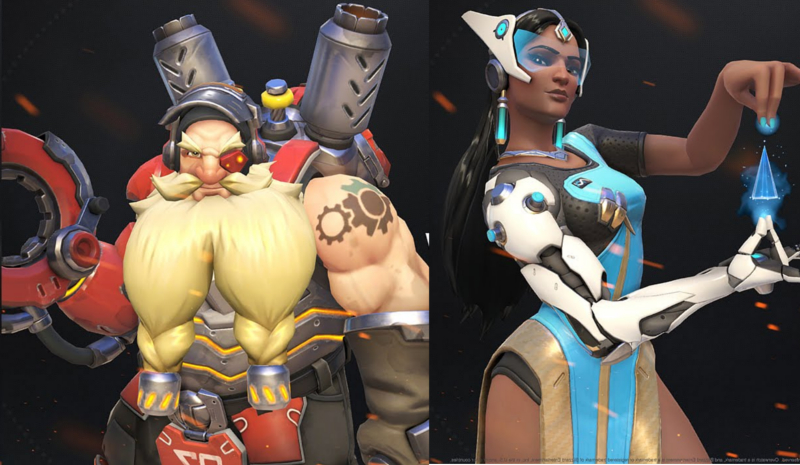 overwatch-best-heroes-capture-the-rooster-ctf-torbjorn-symmetra