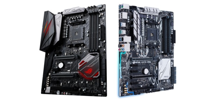 ASUS and ASUS Republic of Gamers Announce Motherboard lineup for AMD Ryzen