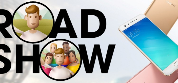 OPPO to showcase the F3 Plus in three-day road show across the country