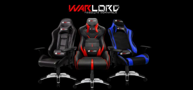 Warlord launches new premium Gaming Seat Series