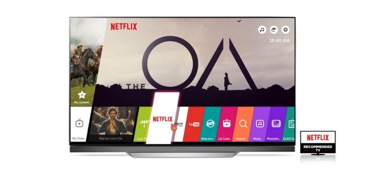 Enjoy FREE 3-month Netflix subscription with LG TVs
