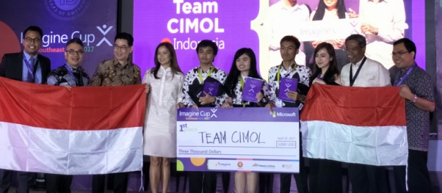 Indonesian students win the 2017 Microsoft Imagine Cup SEA Regional Finals