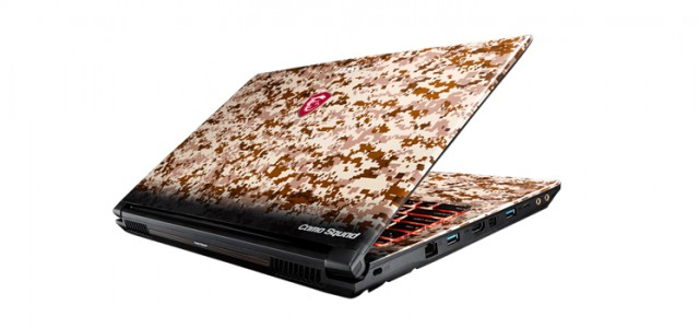 MSI announces new Camo Squad Limited Edition series of laptops and accessories