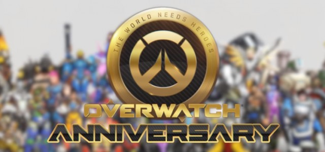 Overwatch Anniversary is now up!