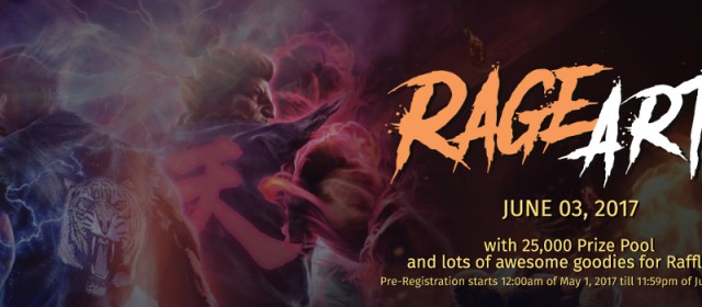 Get ready for Rage Art! The Philippines' largest Tekken 7 launch event