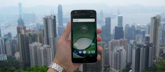 Going around Hong Kong with the Moto Z Play