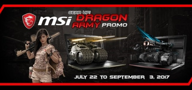 Get a chance to win tickets to Tokyo Game Show 2017 and other prizes with MSI's Gear Up Promo!