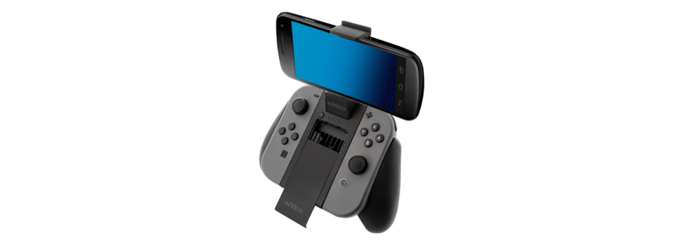 Mount Your Smartphone for Multiplayer Voice Chat with Clip Grip Power for Nintendo Switch