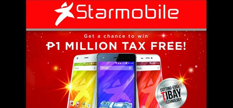 Over P4 Million Worth Of Prizes Tax Free Up For Grabs In Starmobile's 4-Month Long Nationwide E-Raffle Promo