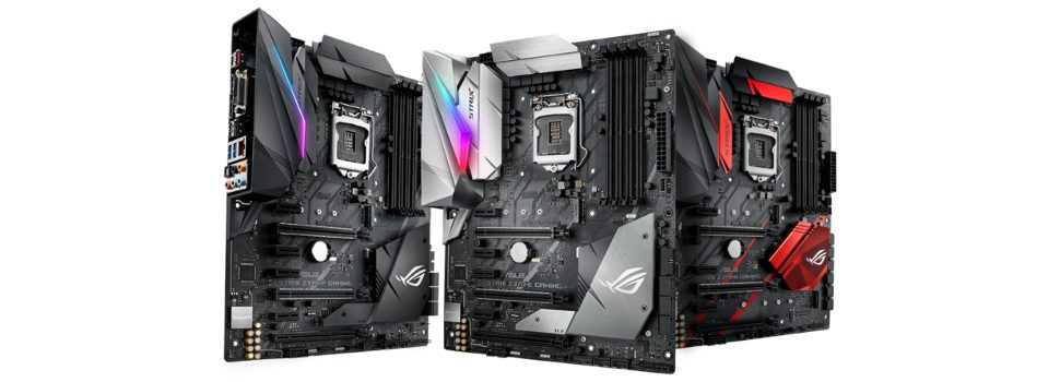 ASUS Republic of Gamers Launches Maximus X and Strix Z370 Series Motherboards