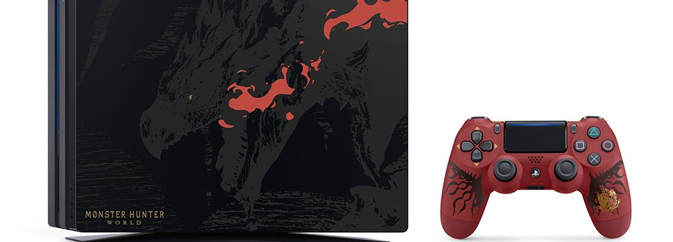 PlayStation Announces The Monster Hunter World: Rathalos Edition PS4 Pro Package