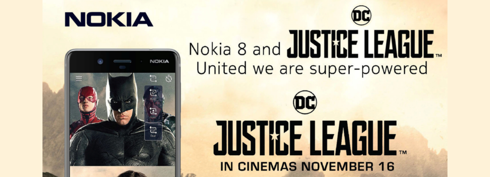 Nokia unites with JUSTICE LEAGUE to power up #bothie experience