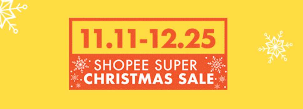 Celebrate the 12 days of Christmas with Shopee's Super Christmas Sale
