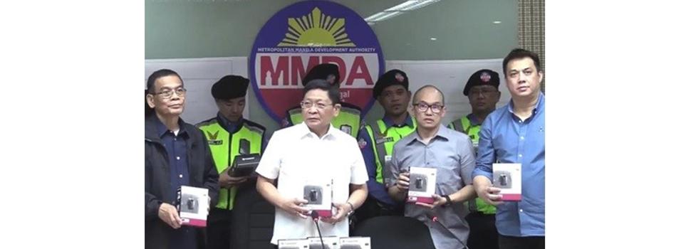 MMDA Gets Transcend Body Cameras to Equip Traffic Enforcers