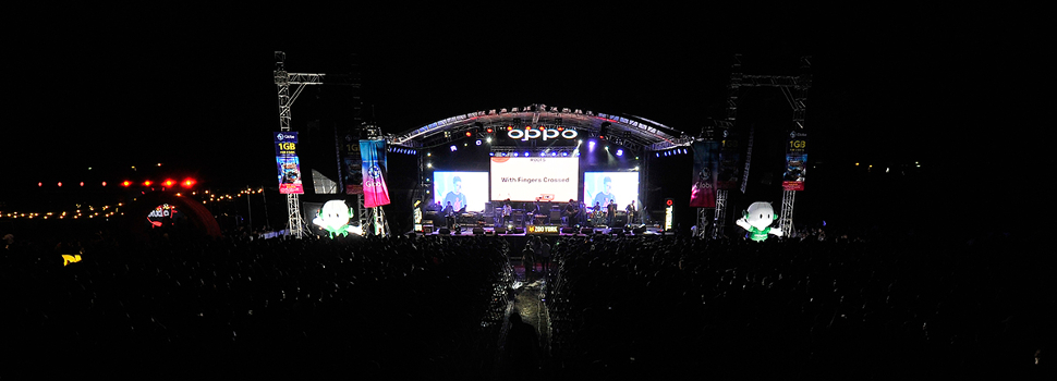 OPPO Celebrates an OPM Weekend at the UP Fair Roots 2018