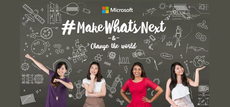 Microsoft Celebrates International Women's Month  by Encouraging Young Women in the Philippines to #MakeWhatsNext