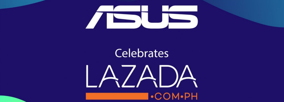 ASUS Philippines Celebrates Partnership with Lazada its Birthday Festival Sale