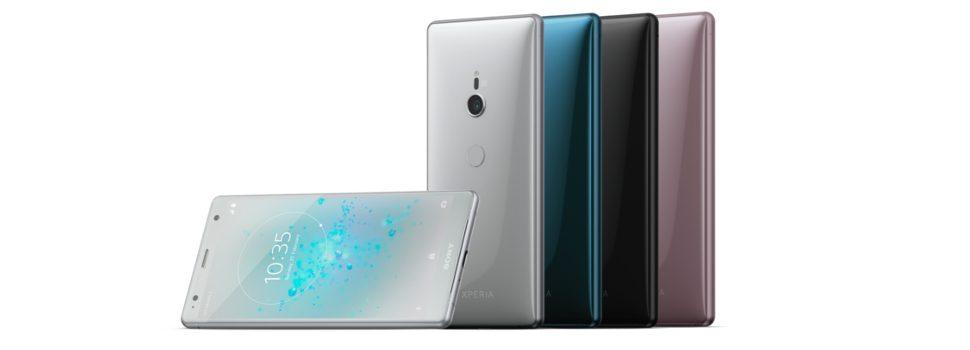 Sony Mobile launches its new flagship XZ2 and midrange XA2 ultra smartphones
