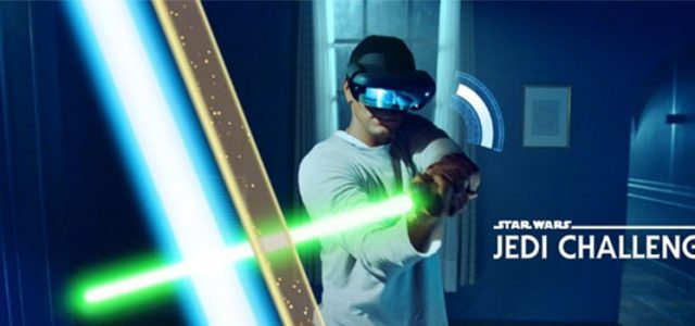 Lenovo and Disney Bring Multiplayer Mode to AR-title Star Wars: Jedi Challenges