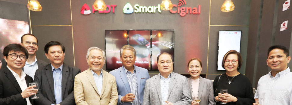 PH's biggest telcos converge, unveil first PLDT-Smart store in BGC