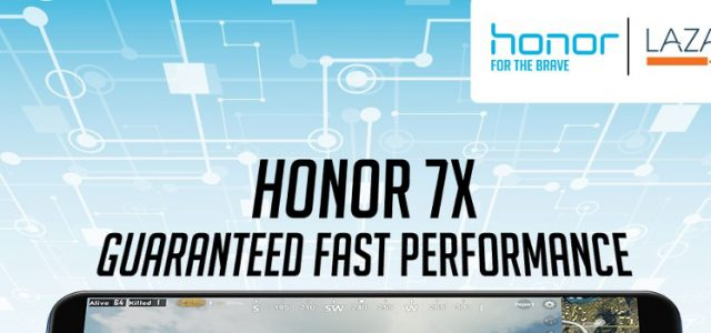 Honor Officially Opens its Store on Lazada, celebrates with a discount on the Honor 7x