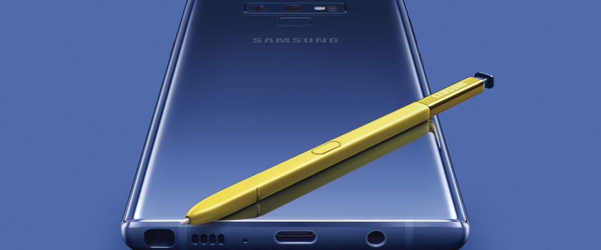 Samsung Unveils the Galaxy Note9