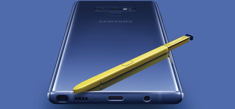 Samsung Unveils the Galaxy Note9