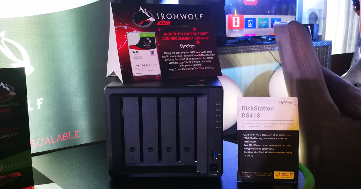 Seagate and Synology Offer Cloud Storage Solutions For