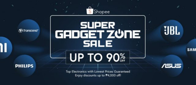 Samsung, Xiaomi, ASUS, and More Offer Amazing Deals on Shopee's Super Gadget Zone Sale