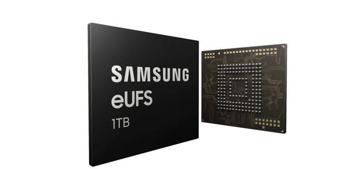 Samsung Announces 1TB Flash Storage