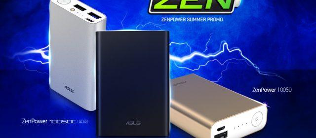 Win a ZenBook 13 By Getting A ZenPower Powerbank!