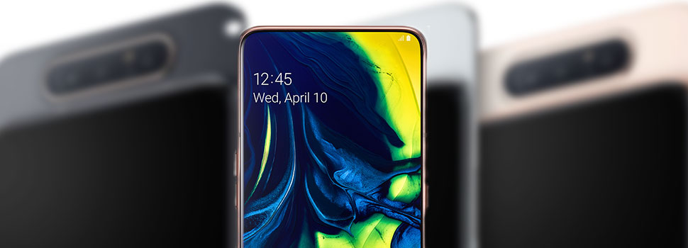 The Samsung Galaxy A80 Comes With A Rotating Camera