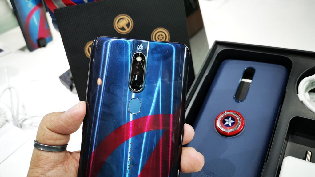 Oppo F11 Pro Avengers imited Edition
