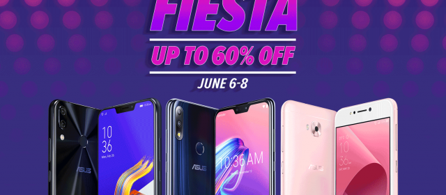 ASUS Philippines Joins Lazada Mobile & Accessories Fiesta