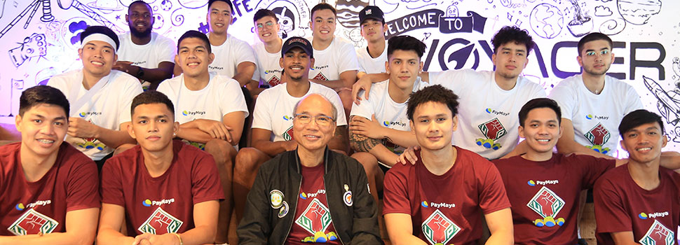 PayMaya supports the UP Men's Basketball Team for the UAAP's 82nd Season