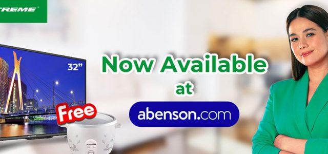 XTREME Appliances now available in Abenson e-stores