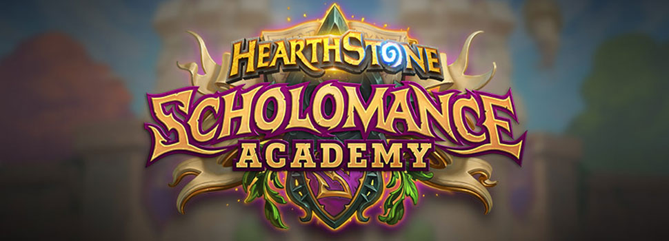 School Starts In August With Hearthstone's Scholomance Academy Expansion